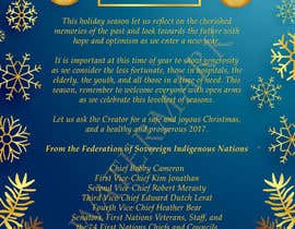 #5 for (fsin) Design a christmas message / ad for an Indigenous entity by Jasmine029