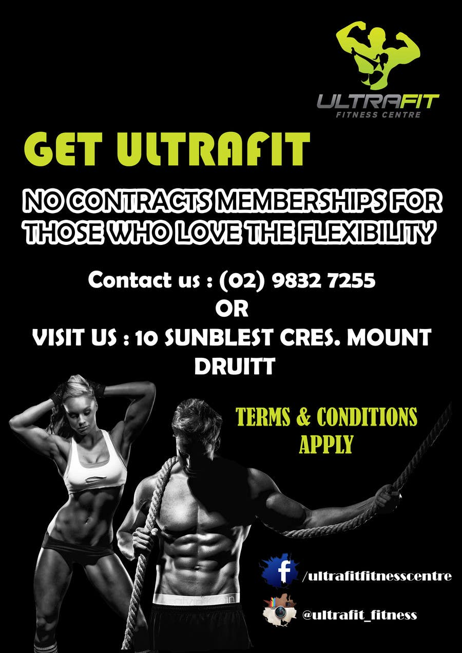 Konkurrenceindlæg #                                        3                                      for                                         ULTRAFIT No Contract Promo Offer