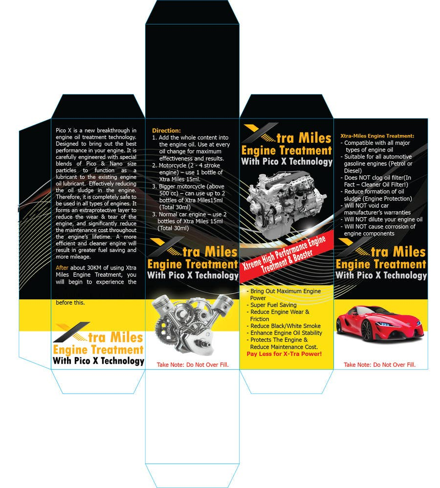 Types Of Oil For Cars >> Entry 10 By Mohamedgamalz For To Design An Oil Additive Box