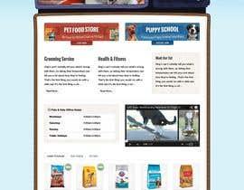 #15 untuk Design a Wordpress Mockup for Pet Food Website oleh teamtegonity