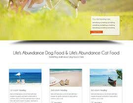 #19 untuk Design a Wordpress Mockup for Pet Food Website oleh getakash1