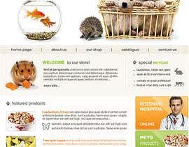#16 untuk Design a Wordpress Mockup for Pet Food Website oleh samtoulayl