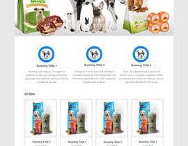#4 untuk Design a Wordpress Mockup for Pet Food Website oleh AkhilAbraham