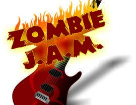"""#5 untuk Design a T-Shirt for a kids' band called """"Zombie J.A.M."""" oleh mike101001"""