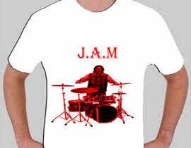 "#3 untuk Design a T-Shirt for a kids' band called ""Zombie J.A.M."" oleh SureN1982"