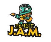 """T-Shirts Entri Peraduan #8 for Design a T-Shirt for a kids' band called """"Zombie J.A.M."""""""