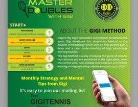 #11 for Design a Stand up Banner and a Step and Repeat for Gigi Fernandez Tennis af ravi05july