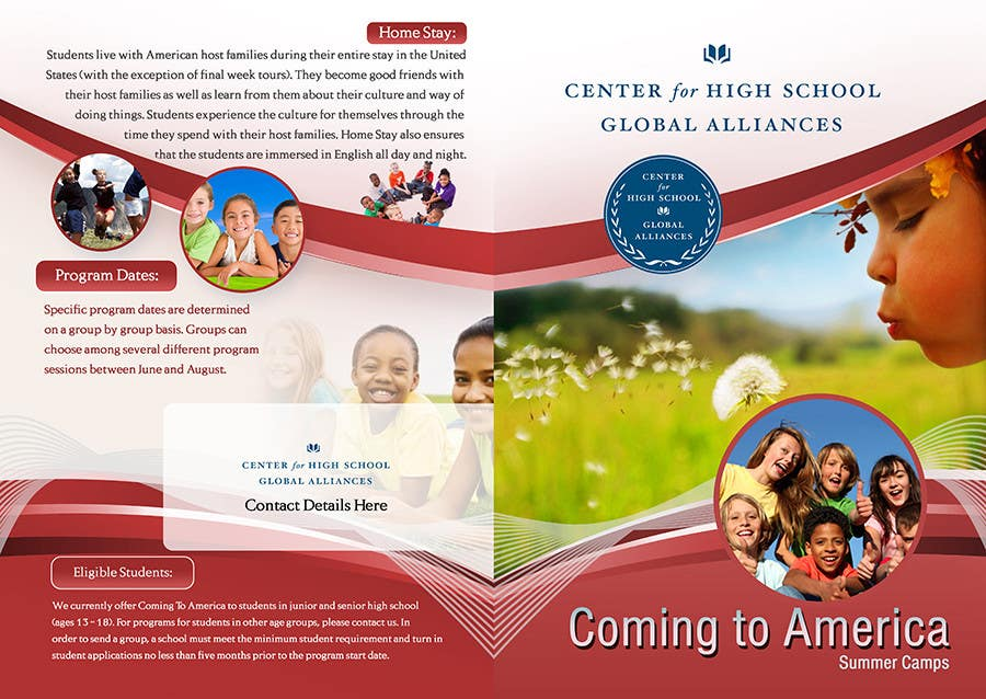 Kilpailutyö #15 kilpailussa Brochure Design for Center for High School Global Alliances