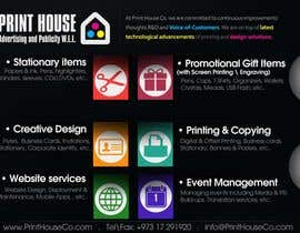 #29 untuk Design a Flyer for Print House Services oleh darkemo6876