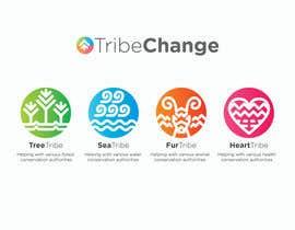 Nro 27 kilpailuun TribeChange Company Logo and Four Icons/ Logos käyttäjältä dighie31