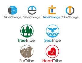 Nro 25 kilpailuun TribeChange Company Logo and Four Icons/ Logos käyttäjältä Yohanna2016