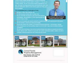 #62 para Ashington Park Flyer Design for Central Florida Property Management por rajibdesigner900