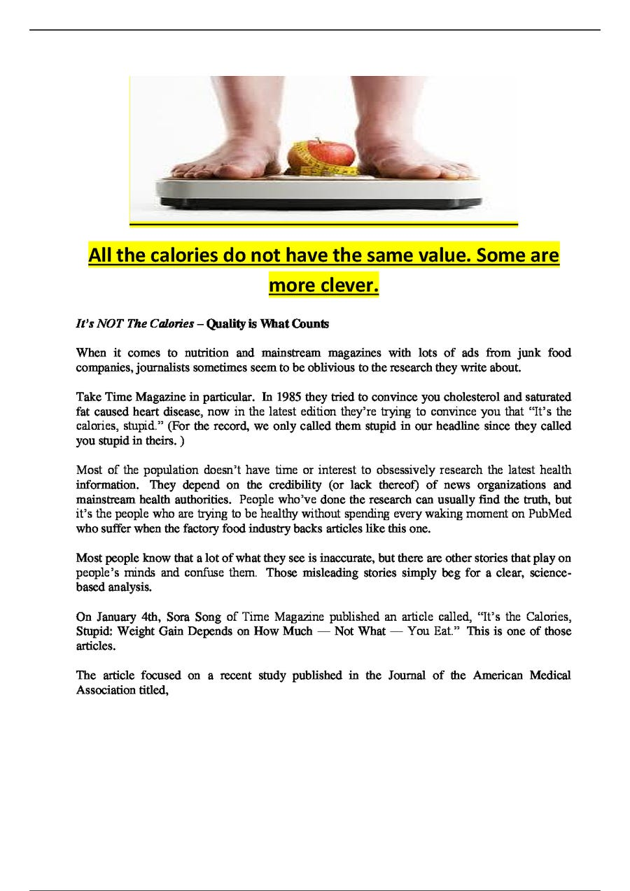 Entry #6 by wmk900 for Write some Nutrition Articles