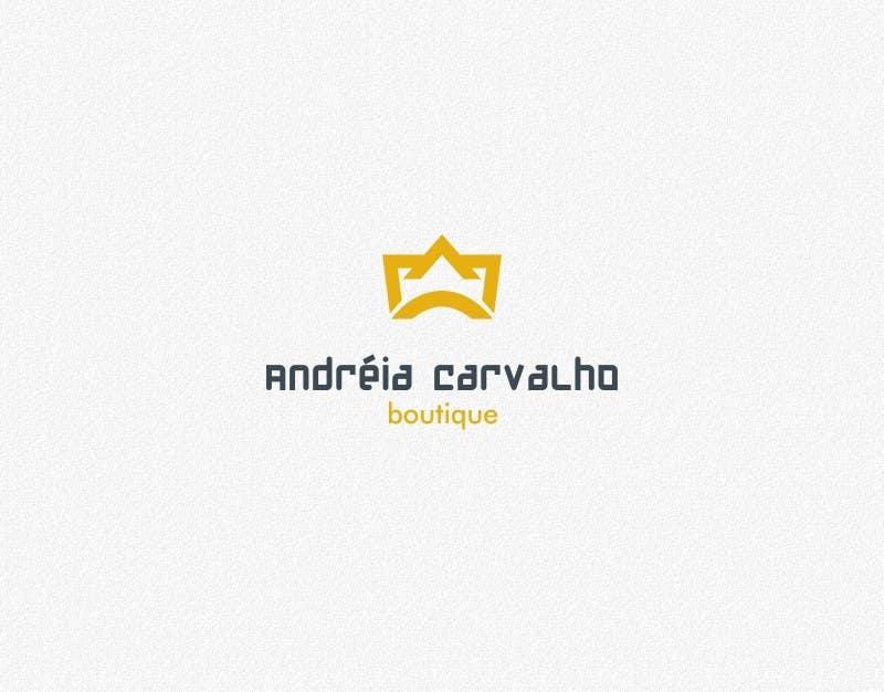 Kilpailutyö #                                        95                                      kilpailussa                                         Logo Design for Andréia Carvalho Boutique - Acessórios Finos