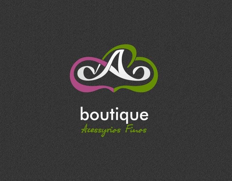Kilpailutyö #                                        33                                      kilpailussa                                         Logo Design for Andréia Carvalho Boutique - Acessórios Finos
