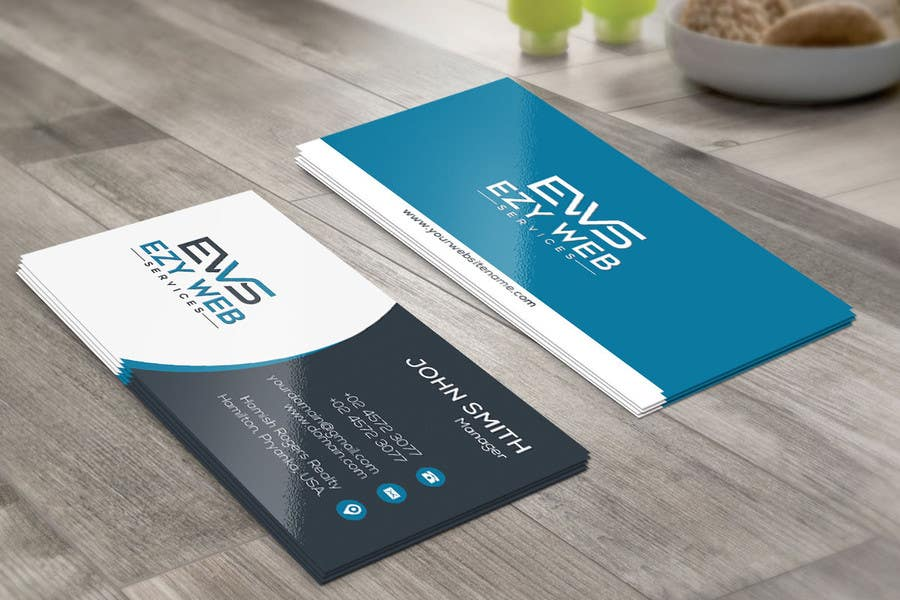Entry #121 by basharmahir for Design some Business Cards for \