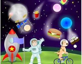 #8 for Cartoon of Characters in Space! by viango