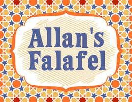 Nro 38 kilpailuun Logo for a Falafel restaurant käyttäjältä jibikob