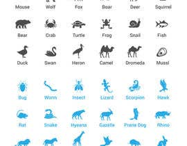 #12 , create a spreatsheet of 32x32px animals 来自 luutrongtin89