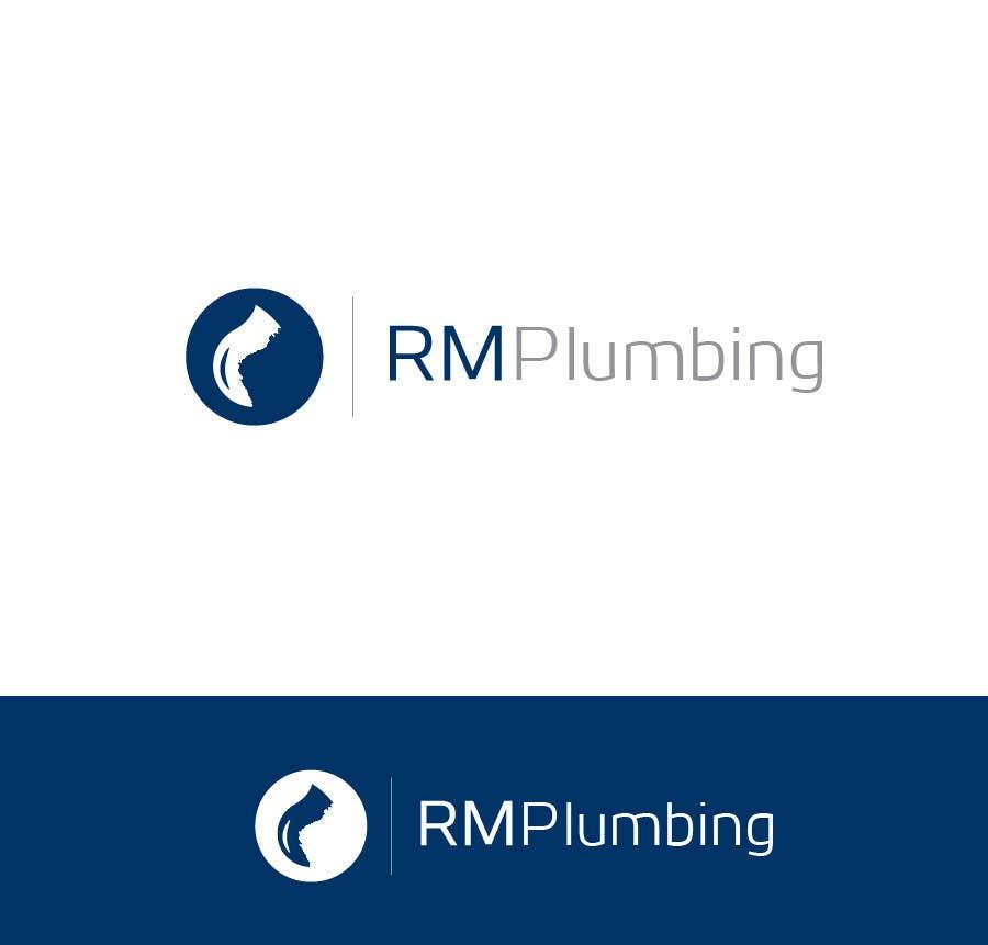 Penyertaan Peraduan #104 untuk Graphic Design for RM Plumbing