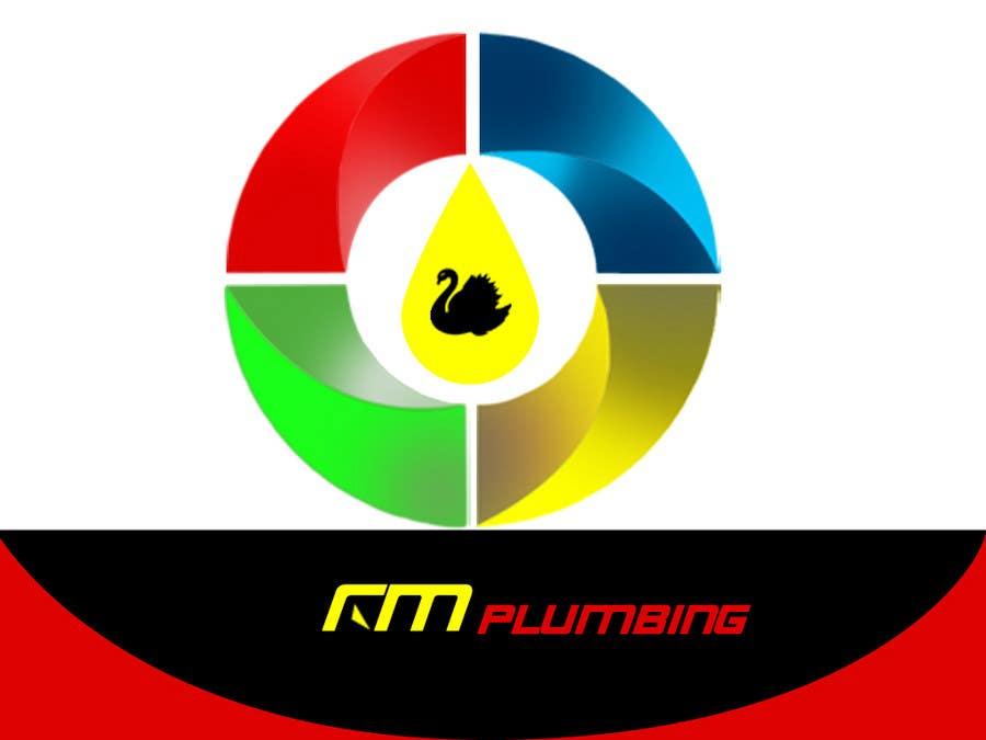 Penyertaan Peraduan #46 untuk Graphic Design for RM Plumbing