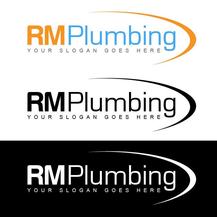 Penyertaan Peraduan #176 untuk Graphic Design for RM Plumbing