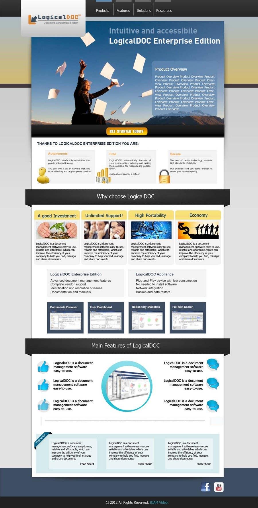 Konkurrenceindlæg #9 for Graphic Design for LogicalDOC