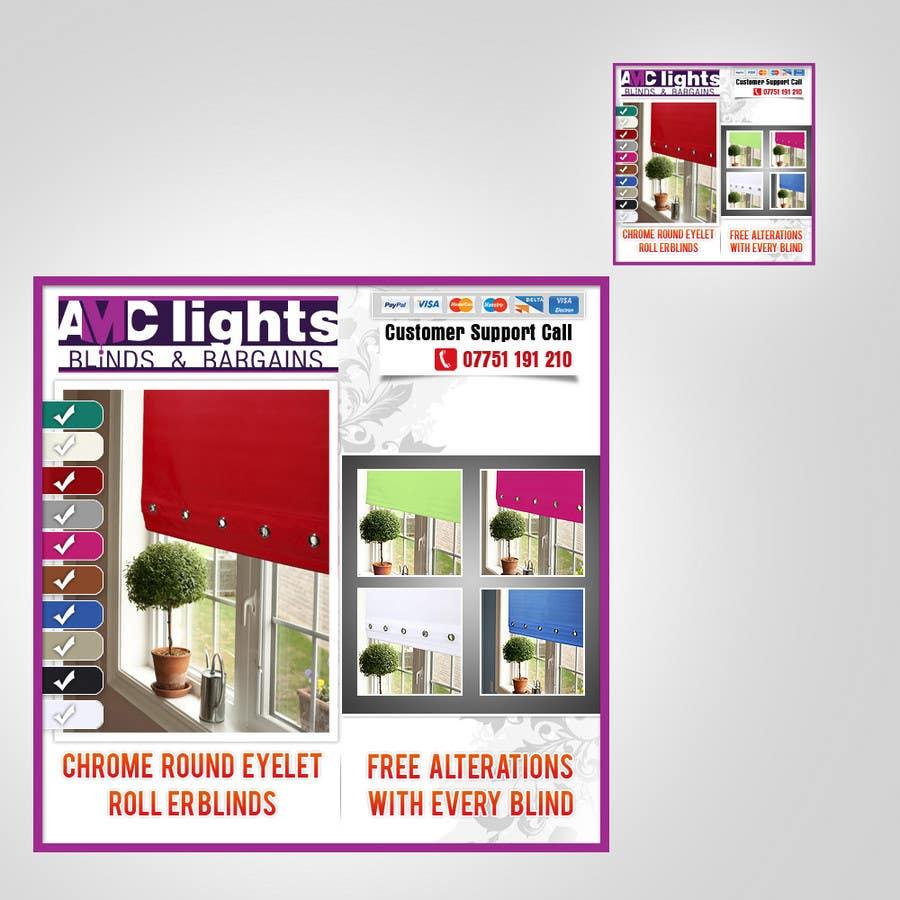 Bài tham dự cuộc thi #                                        3                                      cho                                         Graphic Design for AMC Lights Blinds And Bargains