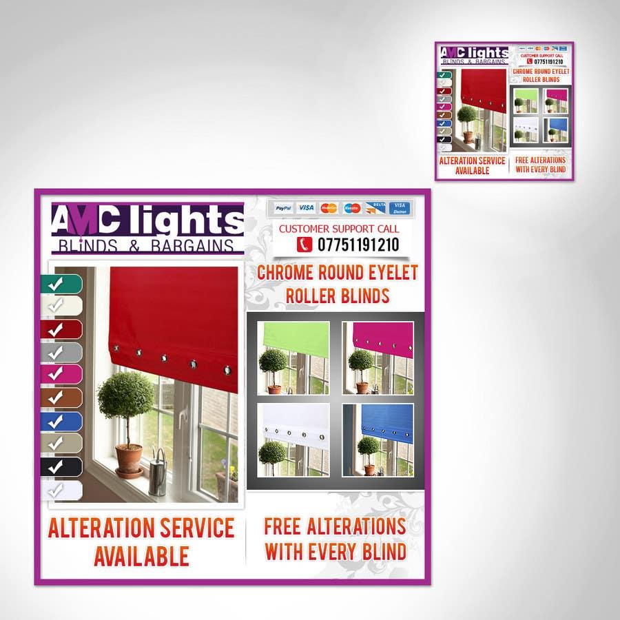 Bài tham dự cuộc thi #                                        6                                      cho                                         Graphic Design for AMC Lights Blinds And Bargains
