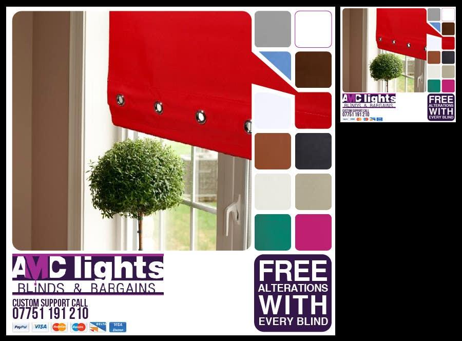 Bài tham dự cuộc thi #                                        30                                      cho                                         Graphic Design for AMC Lights Blinds And Bargains