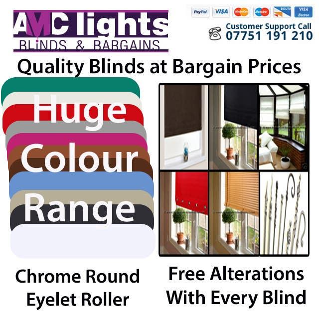 Bài tham dự cuộc thi #                                        5                                      cho                                         Graphic Design for AMC Lights Blinds And Bargains