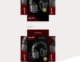 #4 para Design Headphones Product Retail Box por LyonsGroup
