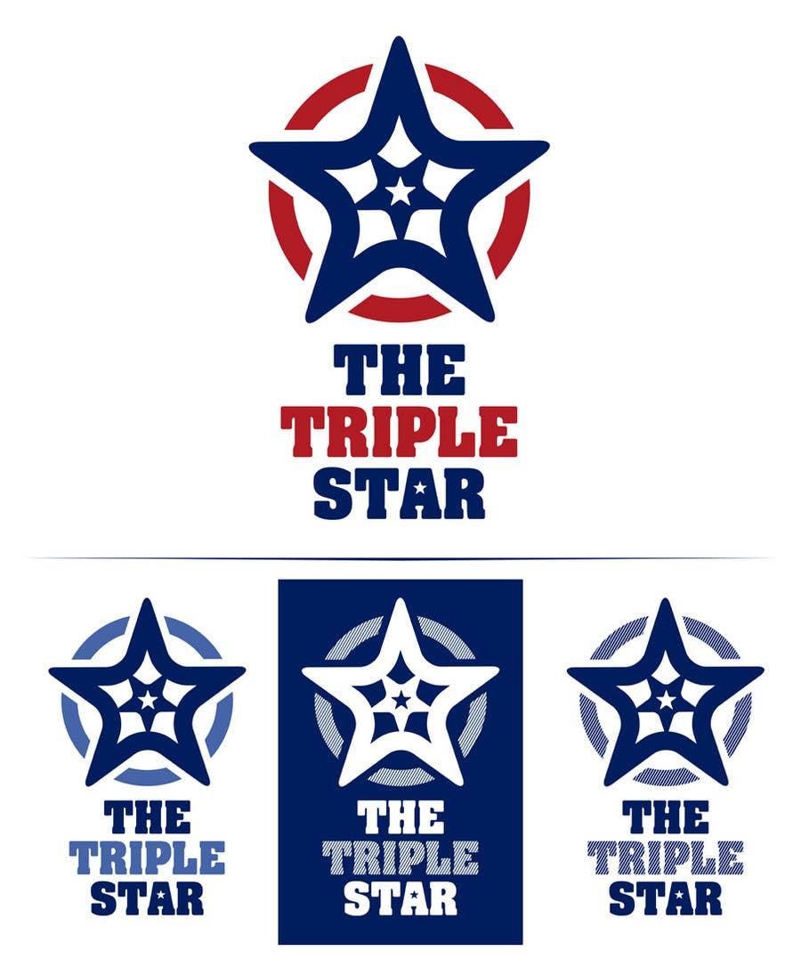 Contest Entry #                                        5                                      for                                         Logo Design for The Triple Star
