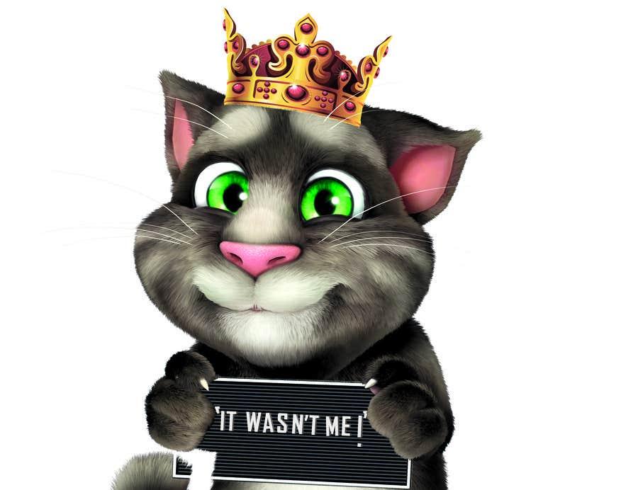 Bài tham dự cuộc thi #                                        18                                      cho                                         make and put crown on cat's head.
