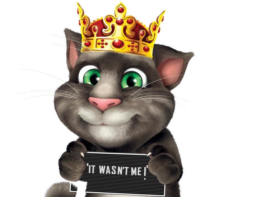 Bài tham dự cuộc thi #                                        13                                      cho                                         make and put crown on cat's head.