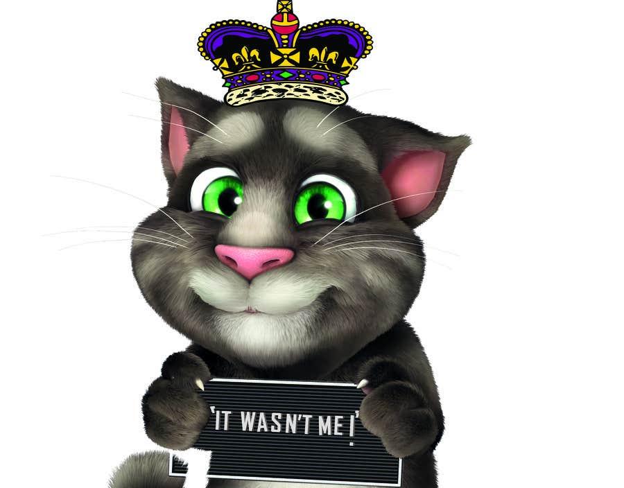 Bài tham dự cuộc thi #                                        14                                      cho                                         make and put crown on cat's head.