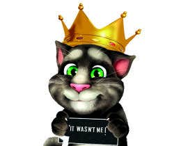 #6 cho make and put crown on cat's head. bởi Satyasen