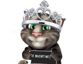 #16 cho make and put crown on cat's head. bởi Satyasen