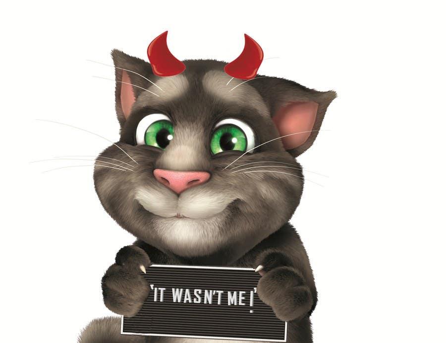 Bài tham dự cuộc thi #                                        26                                      cho                                         make and put crown on cat's head.