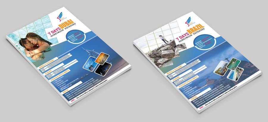 Contest Entry 14 For DESIGN HONEYMOON PACKAGE BROCHURE