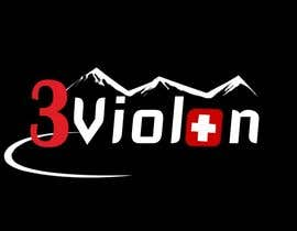 #293 for Logo Design for 3Violon by triloksingh