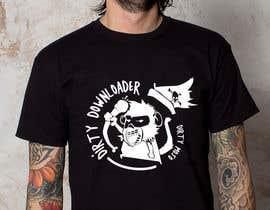 #34 para T-Shirt Design Contest: Dirty Downloader por linhsau1122