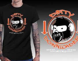 #33 para T-Shirt Design Contest: Dirty Downloader por richisd