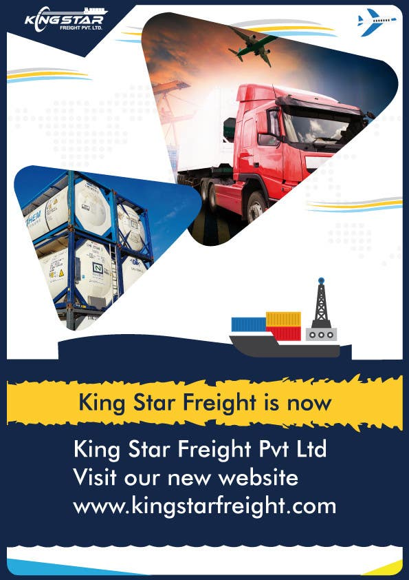 Entry #3 by reshmaguptanag for King Star Freight Pvt Ltd