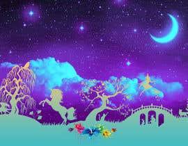 Nro 25 kilpailuun Please create a fairy tale background for my website käyttäjältä ArtGospod