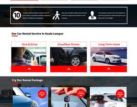 #13 for Car Rental Web Site. Design the main page, win contest and continue working with us on this site in a project environment at $50-100 per page. by deepakdiwan