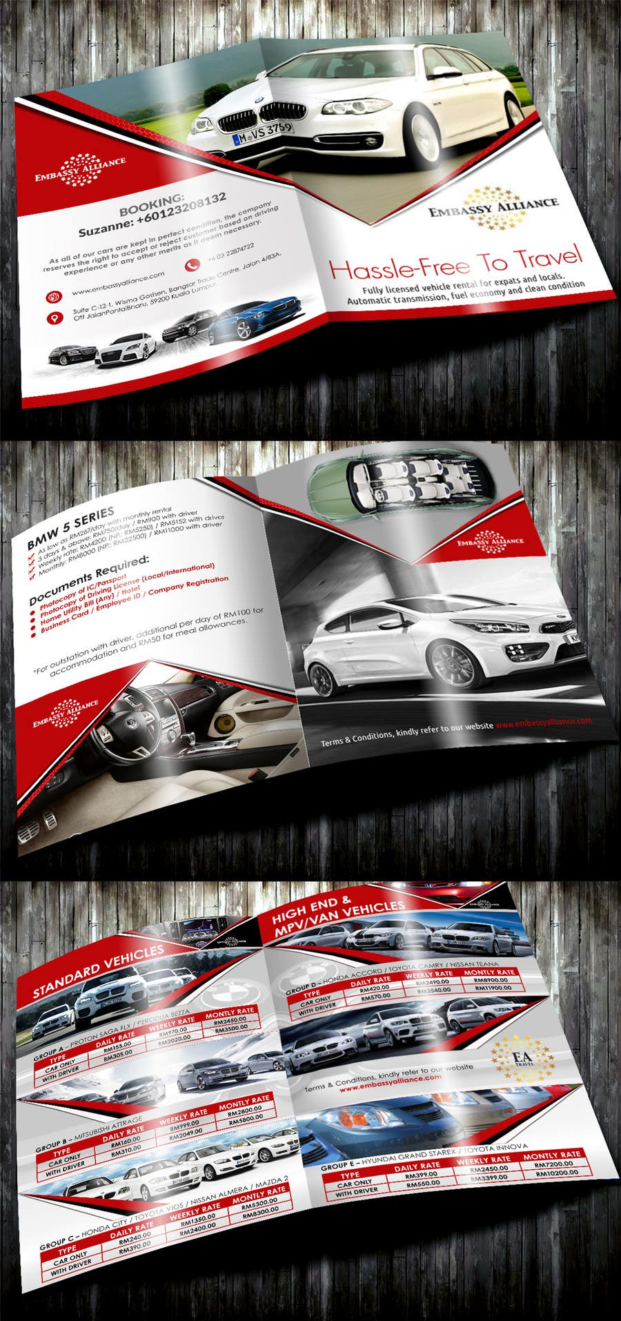 Rental Cars In Ct >> Entry 16 By Dreamworld092016 For Design A Flyer For Car