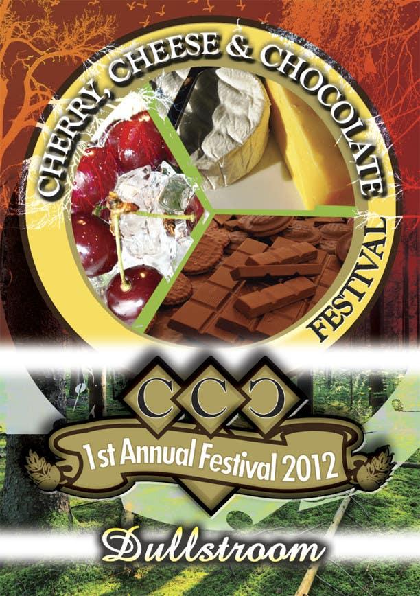 Inscrição nº 15 do Concurso para Flyer & Basic Logo for Dullstroom Cherry Cheese and Chocolate Festival