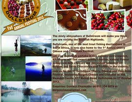 jmars001 tarafından Flyer & Basic Logo for Dullstroom Cherry Cheese and Chocolate Festival için no 20