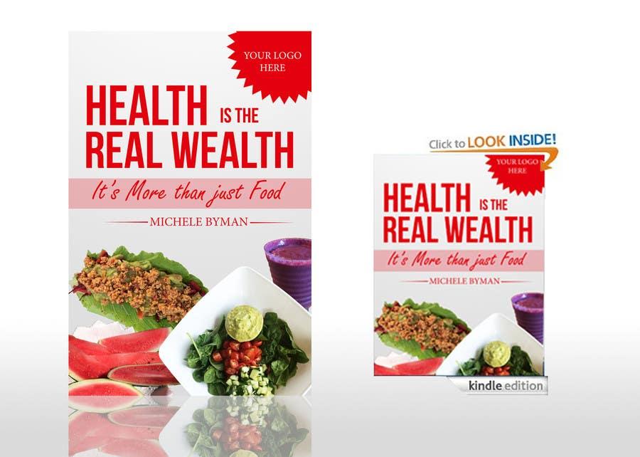 Penyertaan Peraduan #                                        1                                      untuk                                         Conscious eating, Living  E-book Mockup
